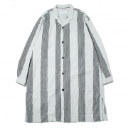 SHIRTS COAT STRIPE PRINTED COTTON CHAMBRAY