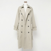WEST POINT / OVERSIZED TRENCH COAT