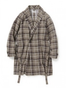 SLEEPER GOWN COTTON FLANNEL PRINT CHECK VW