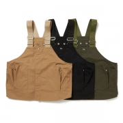 Cotton Twill Gardener Vest by LAND B.C.