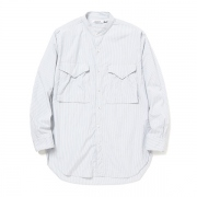 HUNTER LONG SHIRT COTTON BROAD LONDON STRIPE