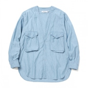 CARPENTER SHIRT JACKET COTTON 6oz CHAMBRAY