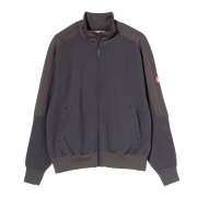 POLY RIB ZIP SWEAT