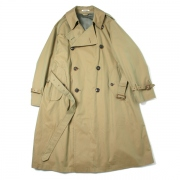 FINX CHAMBRAY BIG TRENCH COAT