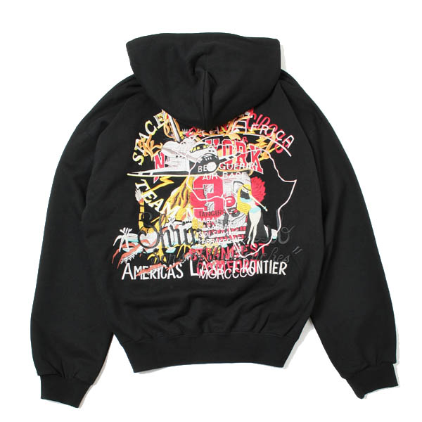 CHAOS EMBROIDERY HOODIE