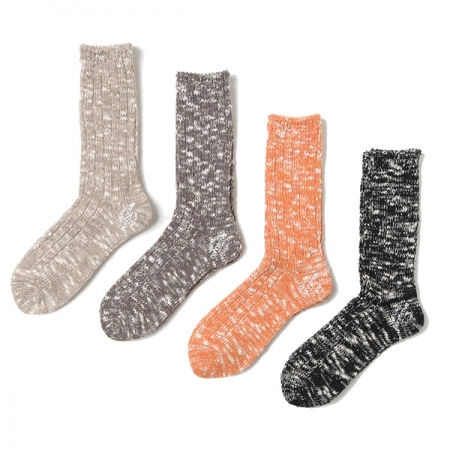 DWELLER SOCKS HI C/R/W/N/P YARN HOT HOUSE