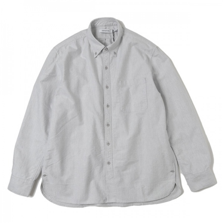 DWELLER B.D. SHIRT RELAXED FIT COTTON OXFORD