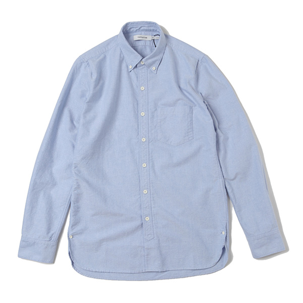 DWELLER B.D. SHIRT COTTON OXFORD
