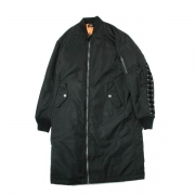 LACE UP MA-1 COAT