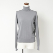 MERINO WOOL HIGH NECK JUMPER