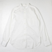 CLASSIC BAND COLLAR SHIRTS SELVEDGE PIN OXFORD