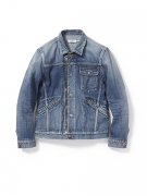 "WORKER JACKET CT 13oz SELVEDGE DENIM VW""RUSSELL"""