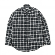 Needle Punched Check Shirt