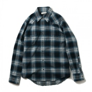 c.nel ombre check western shirt