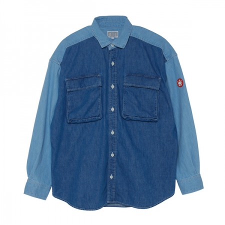 TWO COLOUR DENIM SHIRT