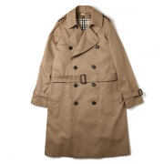 ultimate pima twill trench coat