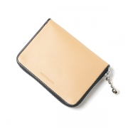 combi color ball chain fold wallet