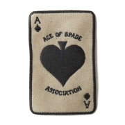 "AGING PATCH ""ACE OF SPADE"""