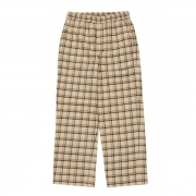 NEL CHECK EASY WIDE PANT