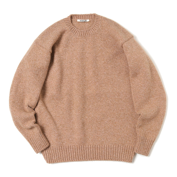 CAMEL WOOL MIX KNIT P/O