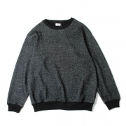 JACQUARD CREW NECK SWEAT