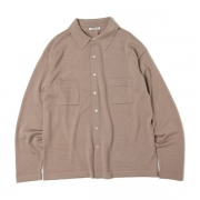 SUPER FINE WOOL KNIT SHIRTS