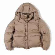 LIGHT FINX POLYESTER DOWN JACKET