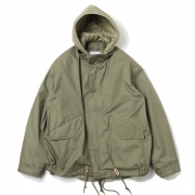 MILITARY JACKET COTTON NYLON OXFORD