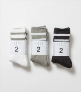 Field Line Socks 2P