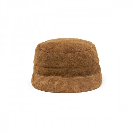 WORKER CAP COW LEATHER