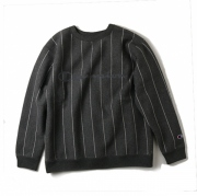 Stripe Crew Neck Sweat
