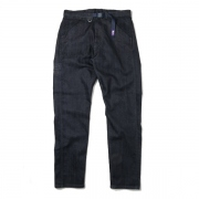 COOLMAX Stretch Denim Tapered Belt Pants
