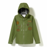 GORE-TEX PACLITE CT WEATHER MT. PARKA WITH EMBLEMS