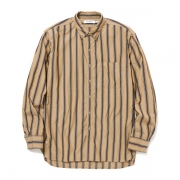 DWL B.D SHIRT RELAXED FIT CT SATIN MULTI STRIPE
