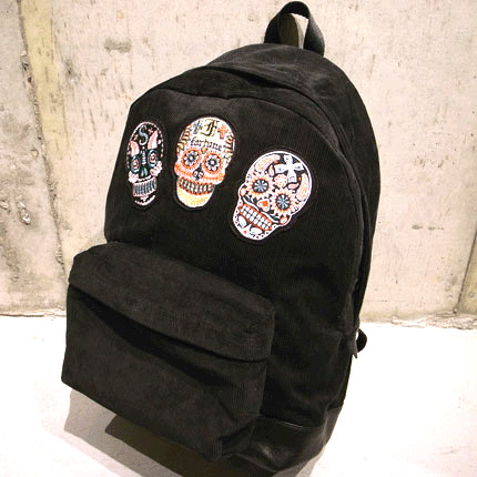 FANCY SKULL BACK PACK