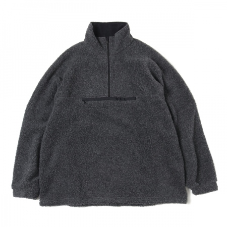 Cashmere Fleece Highneck Pullover