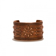 DesertFlower CopperBracelet Wide by STANLEY PARKER