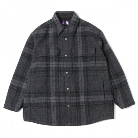 Plaid C.P.O Jacket