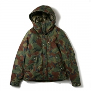 Camouflage Short Down Parka