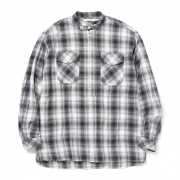 WORKER PULLOVER SHIRT RELAXED FIT CT OMBRE PLAID
