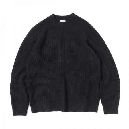 LOW GAGE CREW NECK KNIT