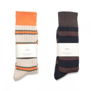 MIDDLE GAUGE RIB SOX 1P(BORDER)