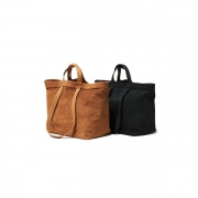 Cow Suede 2Way Tote Bag