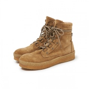 SKIER BOOTS COW SUEDE