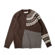 Frankenstein Sweater(BROWN)