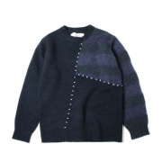 Frankenstein Sweater(NAVY)
