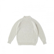 RAMIE WOOL TURTLE NECK SWEATER