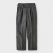 MOLESKIN 2TUCK TROUSERS
