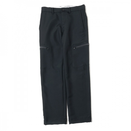 Wool Side Pocket Pants