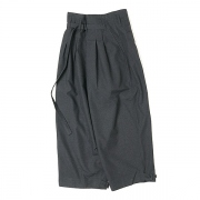 HAKAMA SLACKS(DARK GRAY)